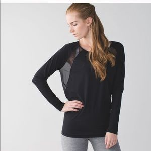 Lululemon Open Back Long Sleeve